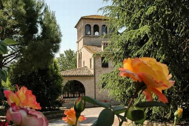 il giardino di Villa Bonci