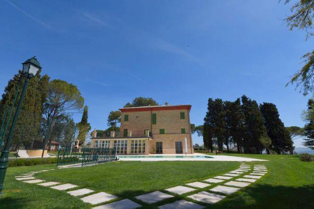 il giardino di Villa Marina
