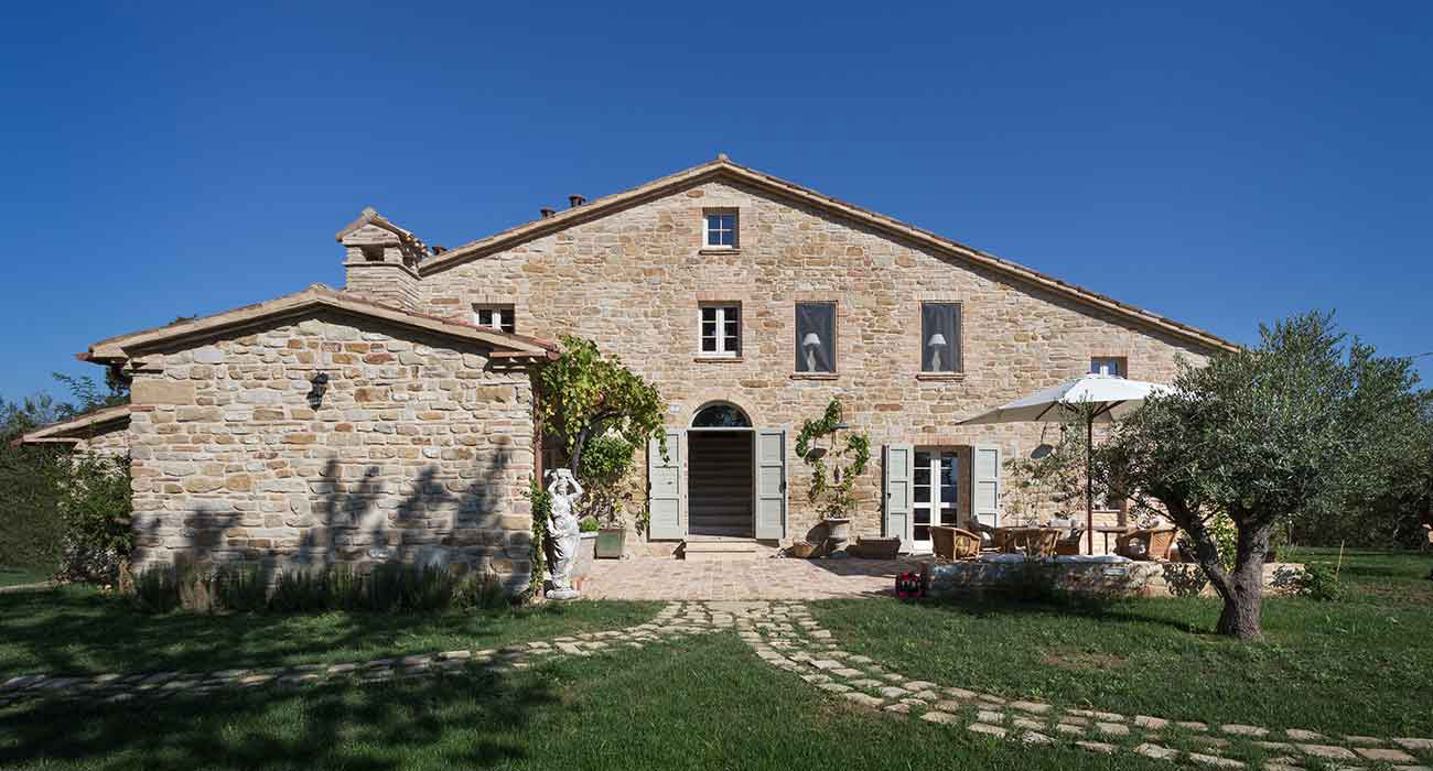 Progetti Di Restauro Casolari Marche Country Homes