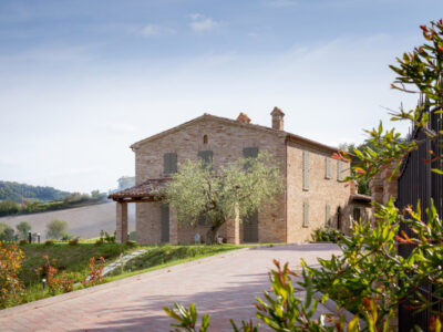 STONE FARMHOUSE IN THE HILLS - PESARO
