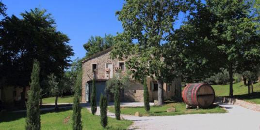 Casale sui Castelli di Jesi - Fonte di Castelplanio - Progetto dell'architetto Sergio Marinelli