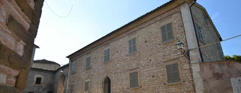 Palazzo Arcevia - recupero di un palazzo storico - Sergio Marinelli Architetto