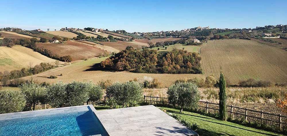 le colline marchigiane intorno Senigallia