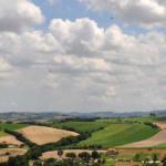 Panorama della campagna marchigiana