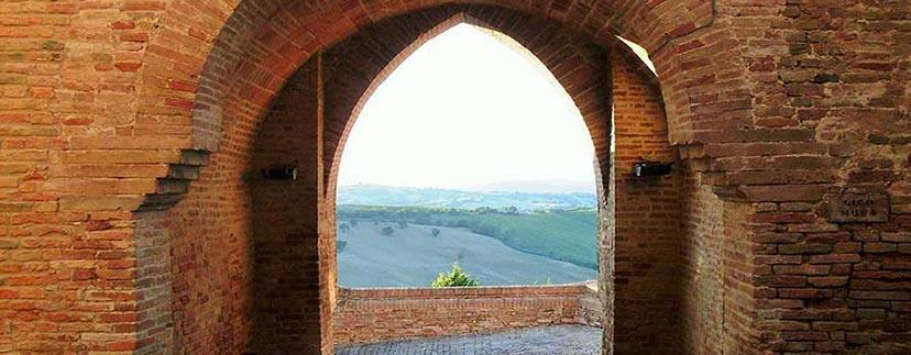 Villas and castles in the region Marche