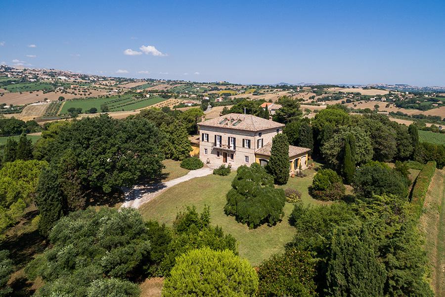 Villa Margherita sui colli di Recanati