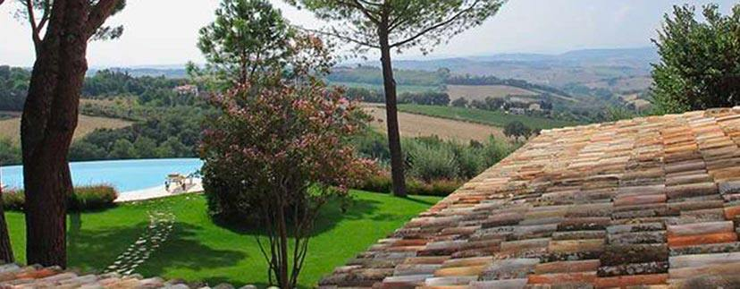 Farmhouses in the region Marche in the province of pesaro urbino
