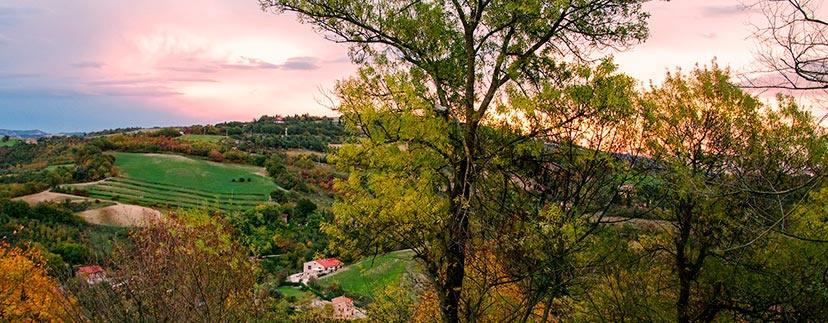 Primavera a Pesaro e Urbino nelle Marche